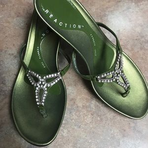 Kenneth Cole Reaction bling strappy sandals